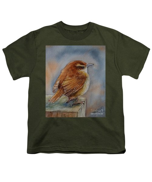 Little Friend Youth T-Shirt by Patricia Pushaw