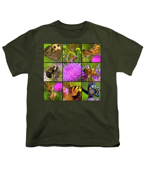 Little Guys  Youth T-Shirt by Betsy Knapp