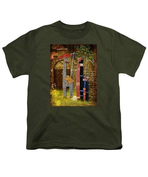 Llamas Say Goodbye Youth T-Shirt by Bellesouth Studio