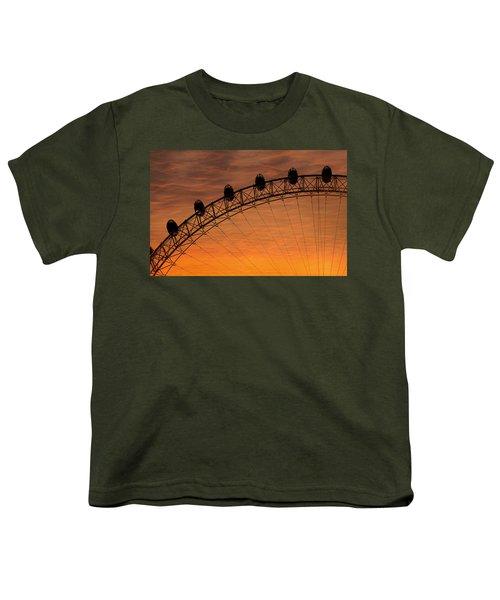 London Eye Sunset Youth T-Shirt
