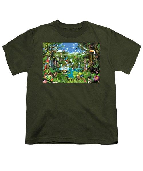 Magnificent Rainforest Youth T-Shirt