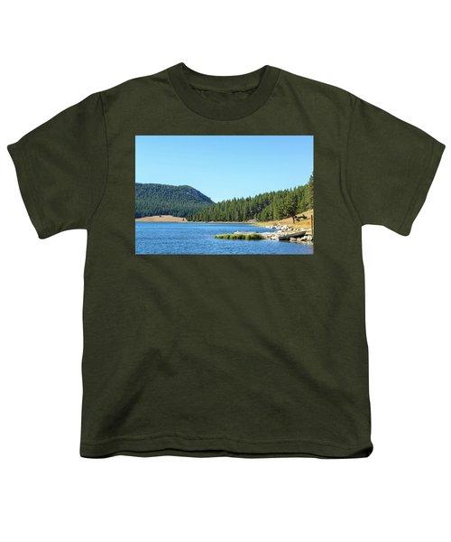 Meadowlark Lake View Youth T-Shirt by Jess Kraft