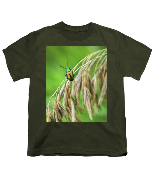 Youth T-Shirt featuring the photograph Mini Metallic Magnificence  by Bill Pevlor