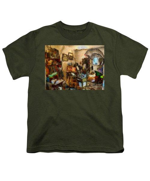 Modern Art Studio Youth T-Shirt