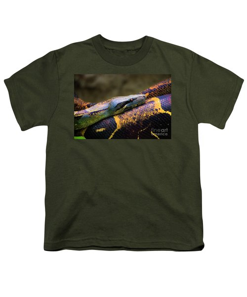 Don't Wear This Boa Youth T-Shirt