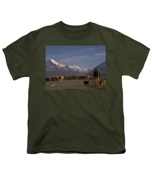 New Zealand Mt Cook Youth T-Shirt