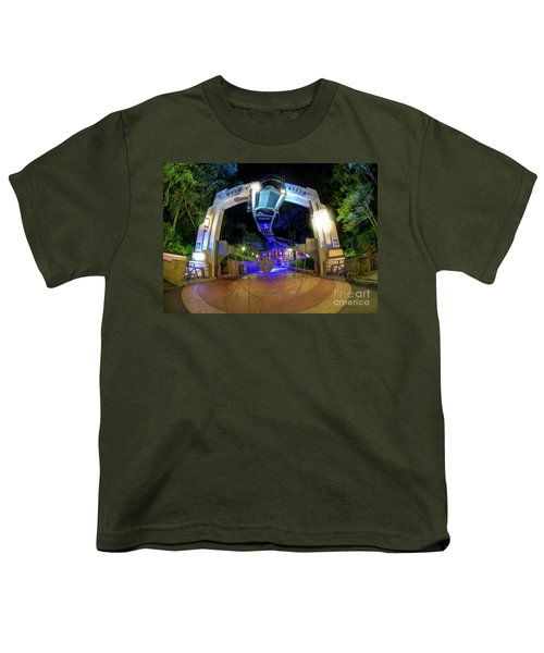 Night Ride On The Rock And Roll Coaster Youth T-Shirt