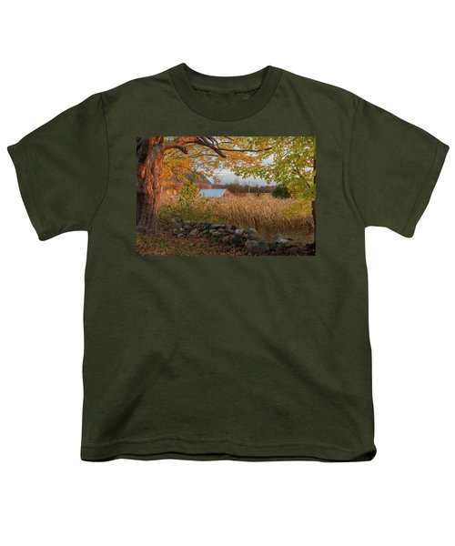 Youth T-Shirt featuring the photograph October Morning 2016 by Bill Wakeley