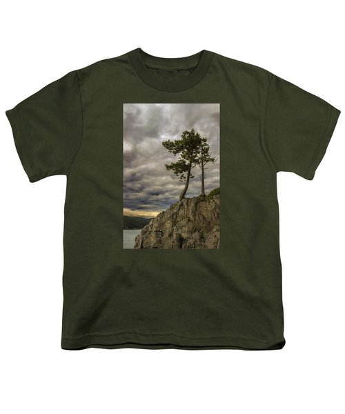 Ominous Weather Youth T-Shirt