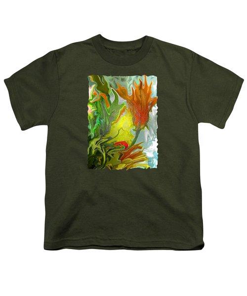 Orange Tulip Youth T-Shirt
