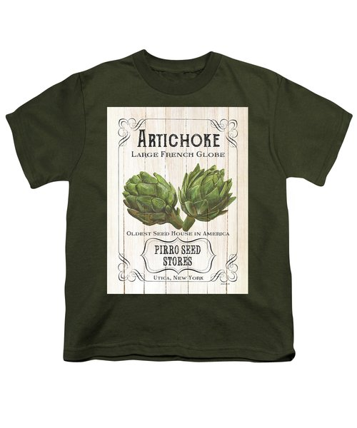 Organic Seed Packets 1 Youth T-Shirt