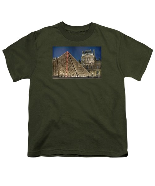 Paris Louvre Youth T-Shirt