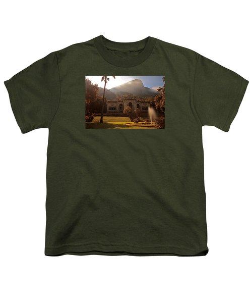 Parque De Lague Youth T-Shirt by Mark Nowoslawski