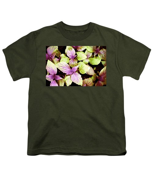 Perilla Beauty Youth T-Shirt by Winsome Gunning