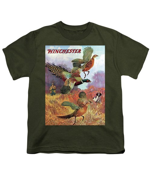 Pheasants On The Rise Youth T-Shirt