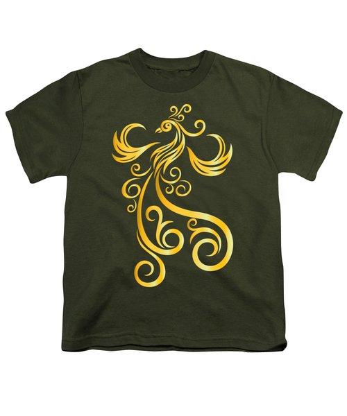 Phoenix Youth T-Shirt by Martinus Sumbaji