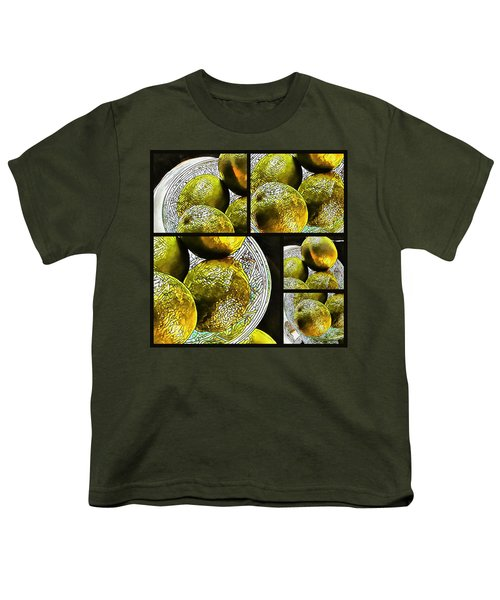 Pieces Of Lime Collage Youth T-Shirt