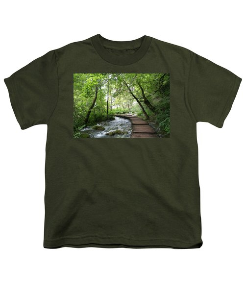 Plitvice Lakes National Park Youth T-Shirt