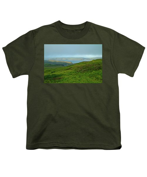 Point Reyes Overlooking Tomales Bay Youth T-Shirt