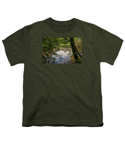 Pond In Spring Youth T-Shirt