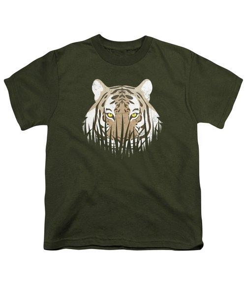 Hiding Tiger Youth T-Shirt