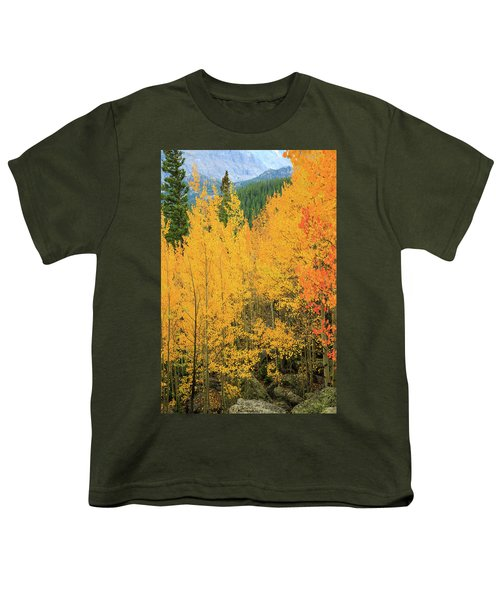 Youth T-Shirt featuring the photograph Pure Gold by David Chandler