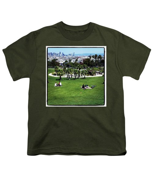 Youth T-Shirt featuring the photograph Quiet At #doloresgaybeach by Mr Photojimsf