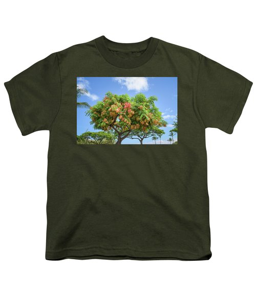 Youth T-Shirt featuring the photograph Rainbow Shower Tree 1 by Jim Thompson