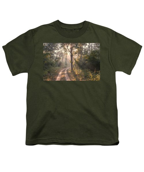 Rays Through Jungle Youth T-Shirt