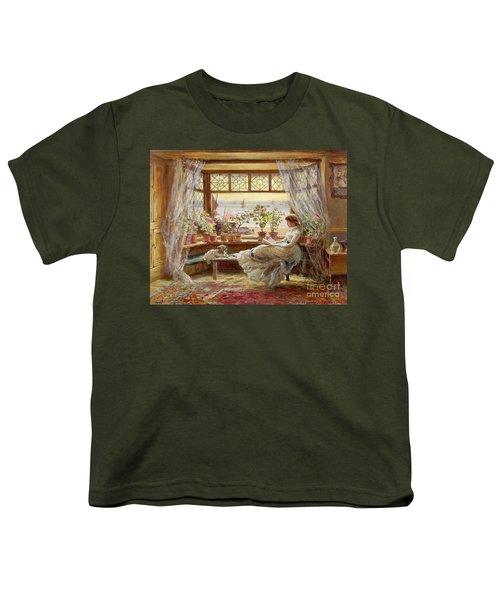 Reading By The Window Youth T-Shirt