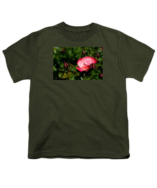 Youth T-Shirt featuring the photograph Rose by Lora Lee Chapman