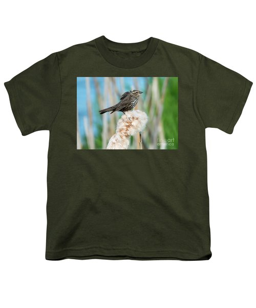 Ruffled Feathers Youth T-Shirt by Mike Dawson
