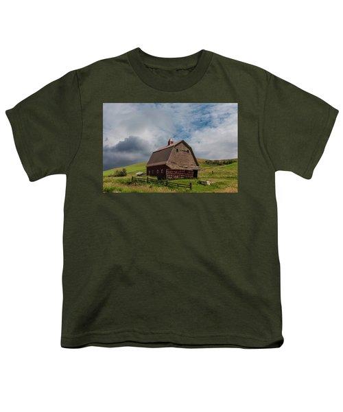 Rustic Barn Palouse Washington Youth T-Shirt