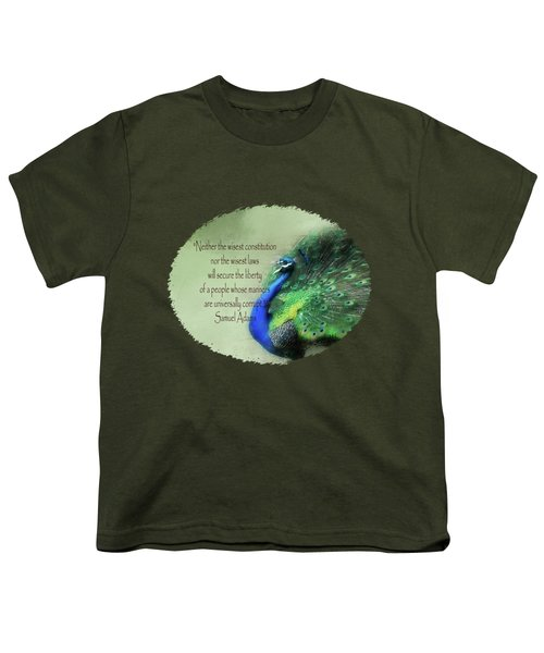 Samuel Adams - Quote Youth T-Shirt