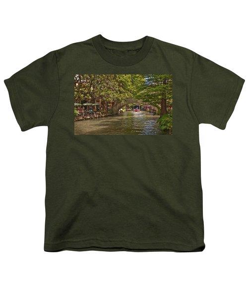 San Antonio Riverwalk Youth T-Shirt
