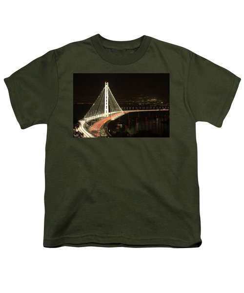 San Francisco Bay Bridge New East Span Youth T-Shirt