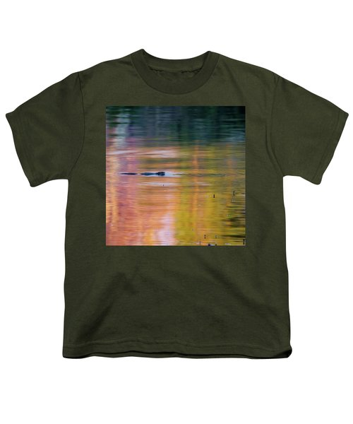 Youth T-Shirt featuring the photograph Sea Of Color Square by Bill Wakeley