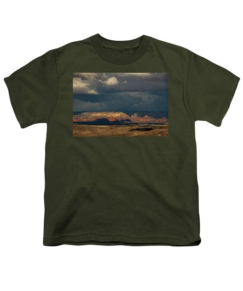 Secret Mountain Wilderness Storm Youth T-Shirt
