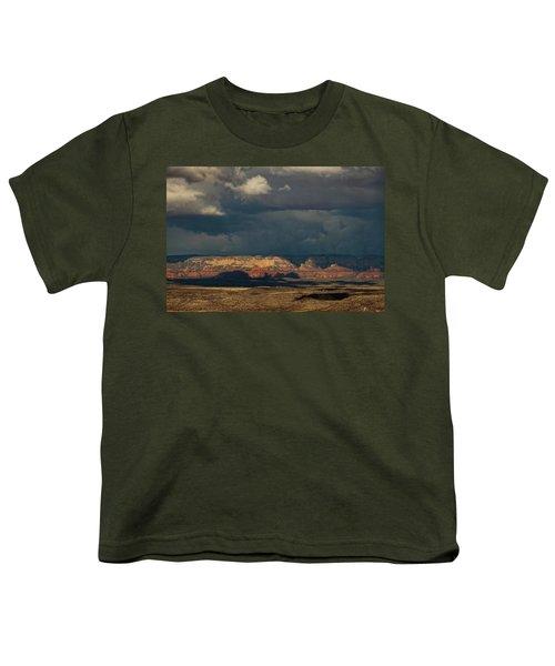 Secret Mountain Wilderness Storm Youth T-Shirt