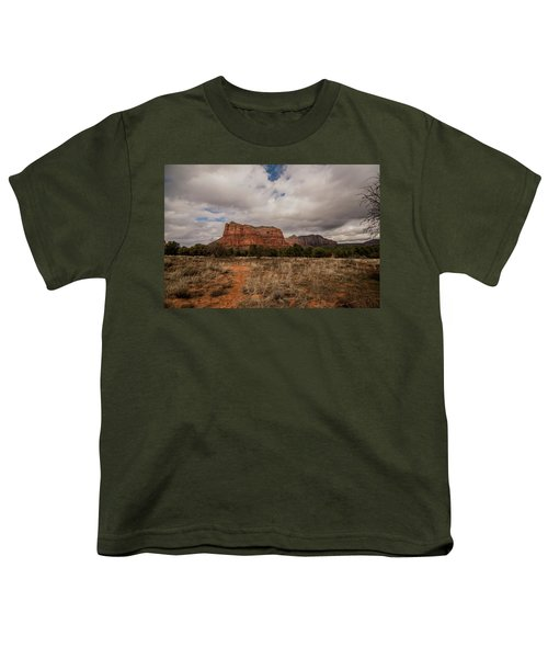Sedona National Park Arizona Red Rock 2 Youth T-Shirt by David Haskett