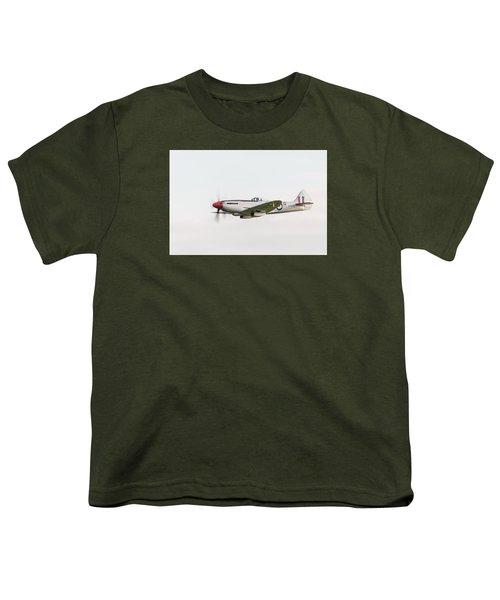 Silver Spitfire Fr Xviiie Youth T-Shirt