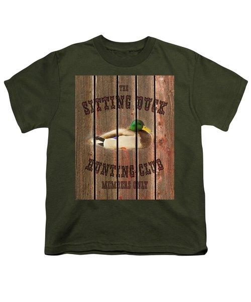 Sitting Duck Hunting Club Youth T-Shirt