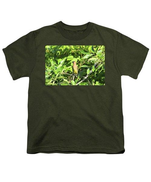 Sitting Pretty Youth T-Shirt by David Stasiak