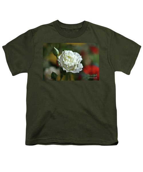 Youth T-Shirt featuring the photograph Snow White by Stephen Mitchell