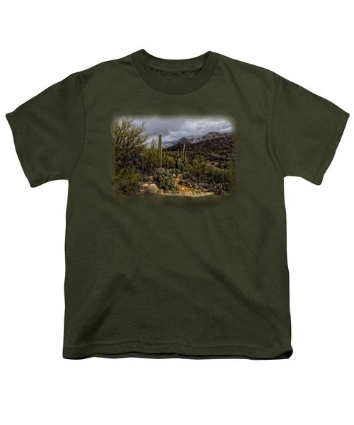 Sonoran Winter No.3 Youth T-Shirt by Mark Myhaver