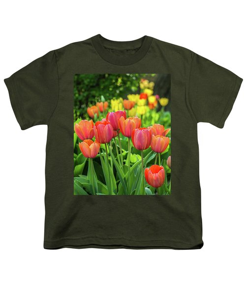 Youth T-Shirt featuring the photograph Splash Of April Color by Bill Pevlor
