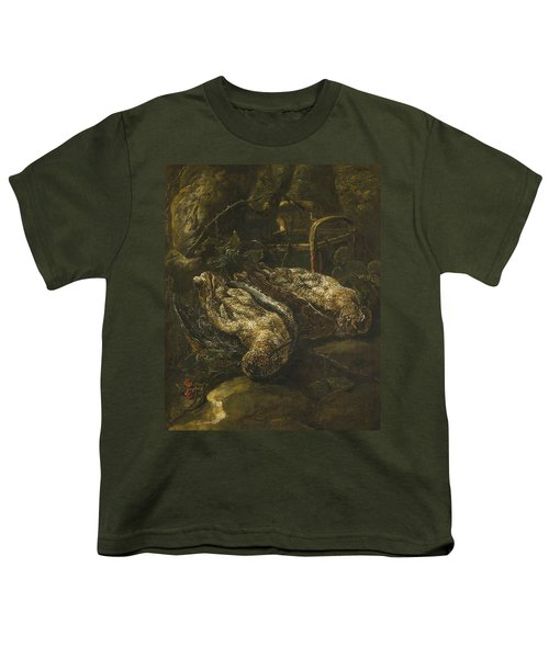 Still Life With Woodcocks Youth T-Shirt