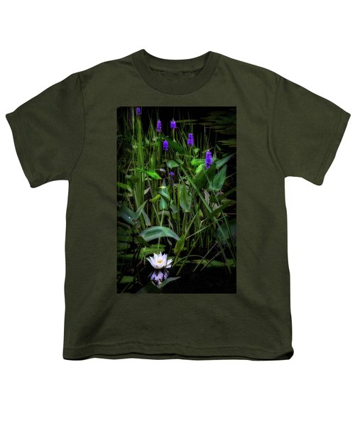 Youth T-Shirt featuring the photograph Summer Swamp 2017 by Bill Wakeley