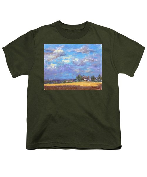Sun And Clouds Georgetown  Youth T-Shirt