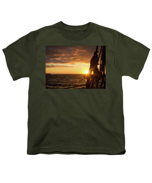 Sun On The Horizon Youth T-Shirt